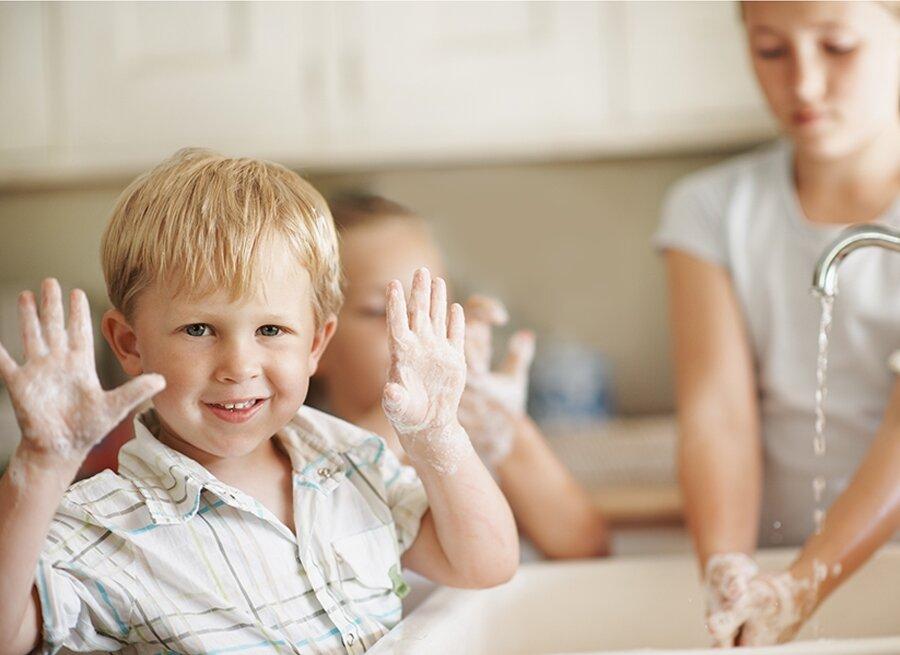 Как обезопасить ребенка от вирусов